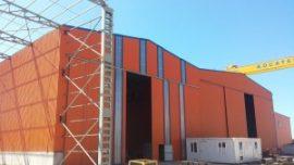 Kocatepe Tersanesi 5.000m² Catı ve Cephe Sandviç Panel Montajı /Yalova – Karamürsel
