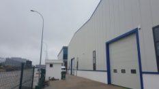 M-Y İnşaat /Dilovası  3,500 m² Çatı Cephe Kaplama İşi